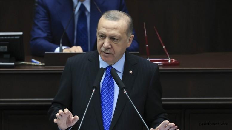 CANLI: Cumhurbaşkanı Erdoğan: Milletten umudunu kesenler şimdi de suç örgütlerine bel bağlamış durumda