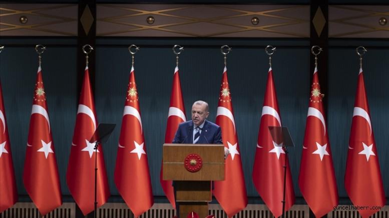 Cumhurbaşkanı Erdoğan: Türkiye ekonomisi, hak ettiği yere doğru hızla yol alıyor