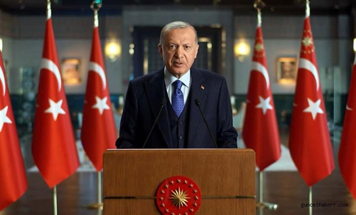 Erdoğan'dan dünyaya 'iklim değişikliği' mesajı