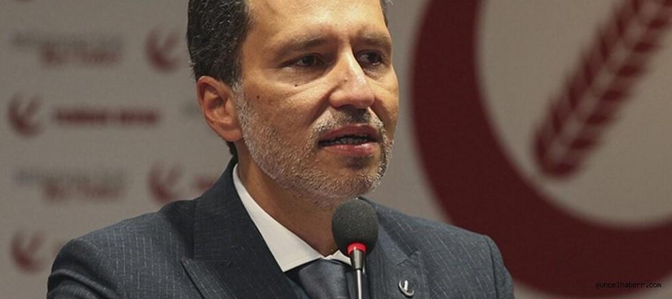 Fatih Erbakan cumhurbaşkanlığı adaylığını açıkladı