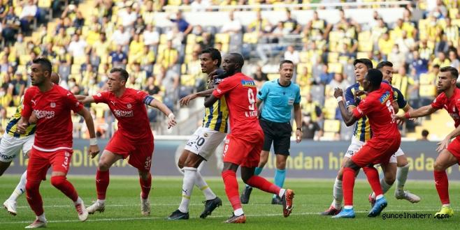 Fenerbahçe sivas'ta takıldı!