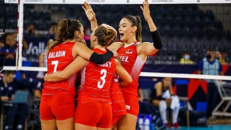 Filenin Sultanları Avrupa Şampiyonası'nda yarı finalde