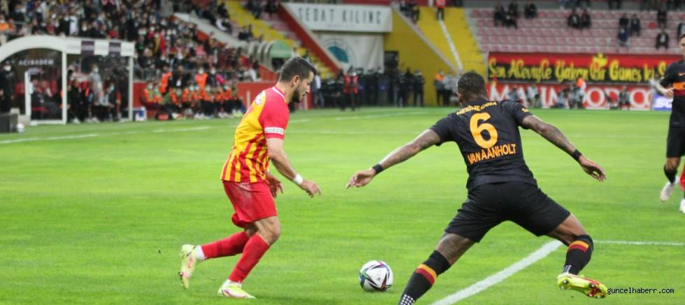 Galatasaray Kayseri'de eridi!
