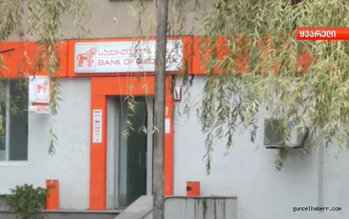 Gürcistan'da banka soygunu!