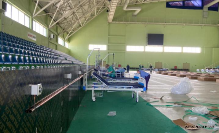 Gürcistan'da stadyumlar hastaneye çevriliyor!