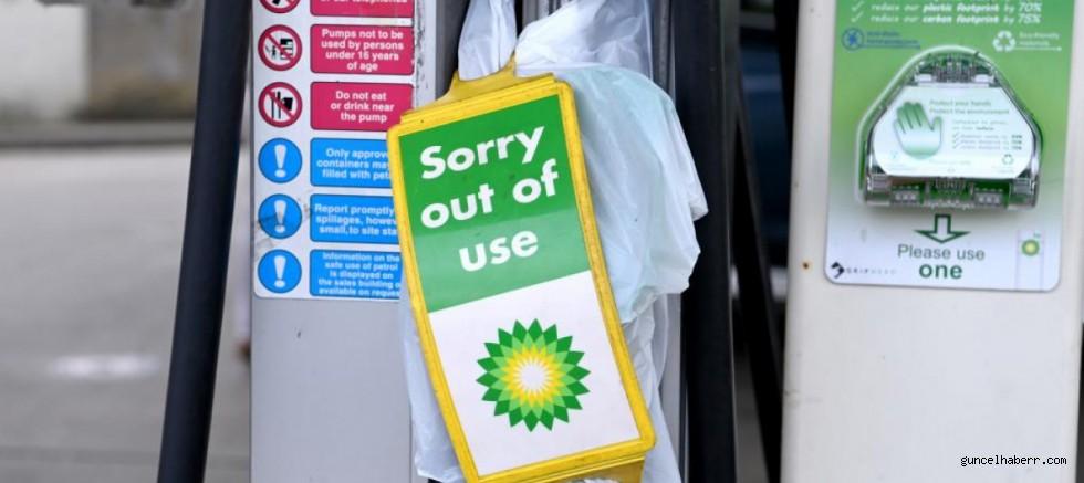 İngiltere'de benzin bitti!