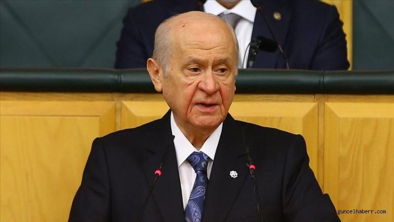 MHP Genel Başkanı Bahçeli'den fezleke açıklaması