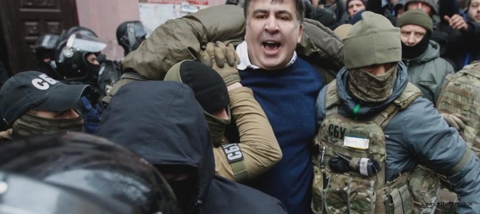 Ukrayna'dan dikkat çeken Saakashvili açıklaması; Rusya'ya teslim edildi!