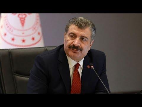 Sağlık Bakanı Koca açıklamalarda bulunuyor